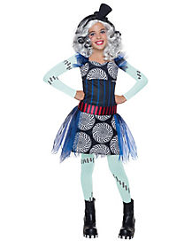 Kids Frankie Stein Costume - Monster High Freak Du Chic