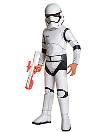 Kids Stormtrooper Costume Deluxe - Star Wars Force Awakens