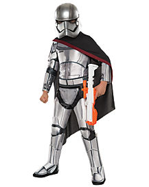 Kids Captain Phasma Costume - Star Wars Force Awakens