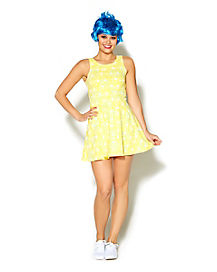Adult Joy Dress Costume - Inside Out
