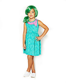 Inside Out Disgust Girls Dress