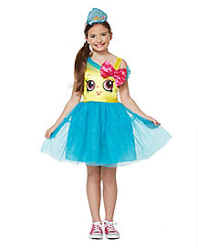 Kids Cupcake Queen Costume - Shopkins