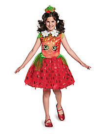 Kids Strawberry Kiss Costume - Shopkins