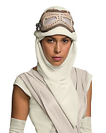 Hooded Rey Mask - Star Wars Force Awakens