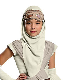 Kids Hooded Rey Mask - Star Wars The Force Awakens
