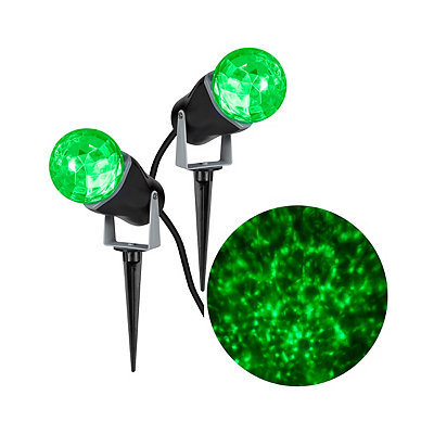 Fire and Ice Green Spot Light