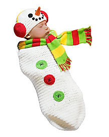 Baby Bunting Snowman Costume
