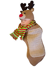 Baby Bunting Randolph the Reindeer Costume