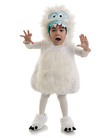 Toddler Snow Monster Belly Costume