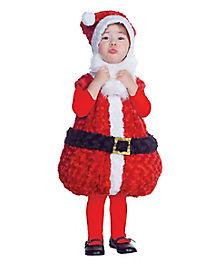 Toddler Santa Belly Costume