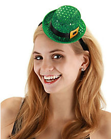 Leprechaun Mini Hat Fascinator