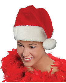 Adult Santa Hat - Deluxe