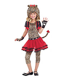 Kids Rockin Cheetah Costume