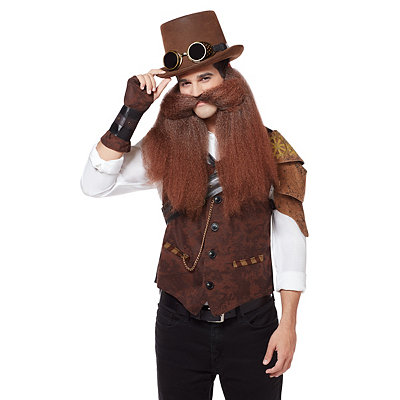 Long Steampunk Beard