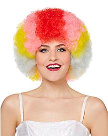 Rainbow Afro Wig