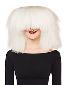 Faceless Pop Singer Wig