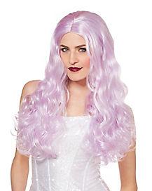 Lavender Curls Wig