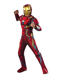 Kids Iron Man Costume Deluxe - Marvel Civil War