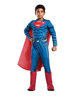 Kids Superman Costume Deluxe- Batman v Superman