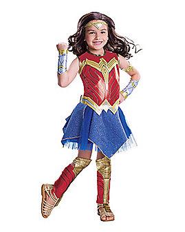 Kids Wonder Woman Costume Deluxe-Batman v Superman