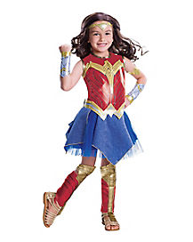 Kids Wonder Woman Costume Deluxe-Batman v Superman
