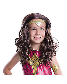 Kids Wonder Woman Wig- Batman v Superman