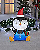 5 Ft Holiday Penguin Inflatable - Decoration