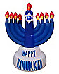3.5 Ft Hanukkah Menorah Inflatable