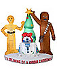 6 ft Light Up Droid Christmas Inflatable - Star Wars