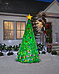 8 Ft Light Up Christmas Tree Inflatable