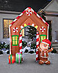 9 Ft Gingerbread House Archway Light Up Inflatable