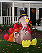 5 Ft Festive Turkey Inflatable