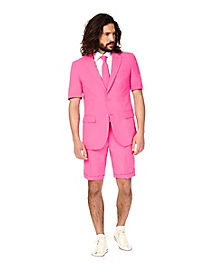 Mr. Pink Summer Party Suit Costume