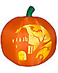 5 Ft Panoramic Projection Pumpkin Inflatable
