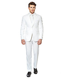 Adult White Knight Suit Costume