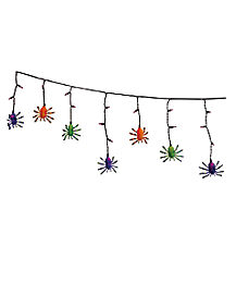 Spider Drop String Lights - Decorations