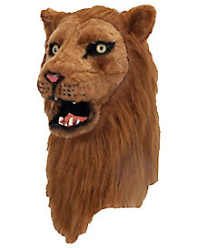 Adult Moving Mouth Lion Mask