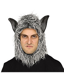 Adult Gray Werewolf Mask