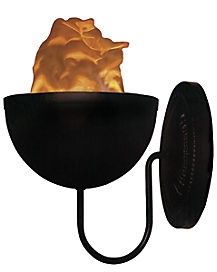 Wall Mount Flame Effect Light - Decorations