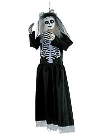 3 Ft Hanging Skeleton Doll Animatronics - Decorations