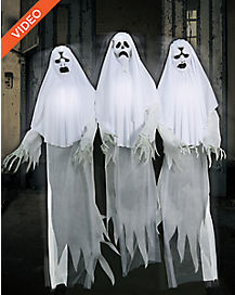 6 Ft Spooky Ghost Trio Animatronics – Decorations