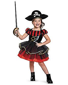 Toddler Precious Pirate Costume