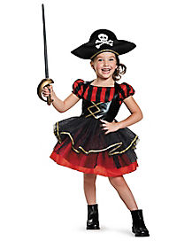 Toddler Precious Pirate Costume