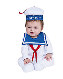 Baby Stay Puft One Piece - Ghostbusters