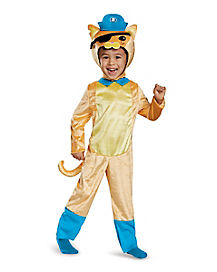 Toddler Kwazii Cat One Piece Costume - Octonauts