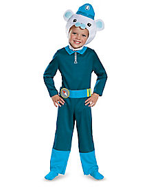 Toddler Captain Barnacles Costume - Octonauts