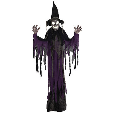 3 ft hanging creepy witch decorations - Witch Decorations