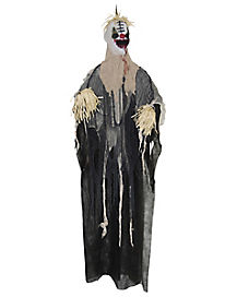 5 Ft Hanging Scarecrow Clown - Decorations