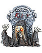 18 Inch Tombstone Reaper Animatronics - Decorations