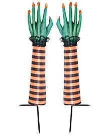 Orange Witch Hand Sticks